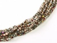 Glasschliffperlen 2mm Crystal Sliperit ca 150 Stück