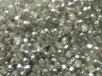 Glasschliffperlen 4mm Crystal CAL 100 Stück
