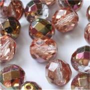 Glasschliffperlen 3mm Rosa Apollo 100 Stück