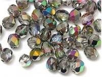 Glasschliffperlen 3mm Crystal VM 100 Stück