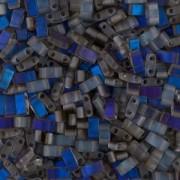 Miyuki Halb Tila Beads 2,2x5mm matt Azuro HTL4556 ca 7,8gr