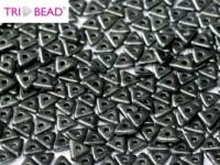 TRI Beads 4mm 23980-14400 Jet Hematite ca 10 gr