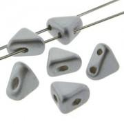 Kheops Pearls 6x6mm 02010-25028 Pastel Light Grey Silver ca 9 gr