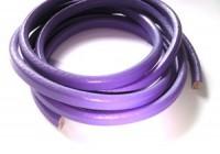 Lederband 10x7mm milka Violet 20cm lang