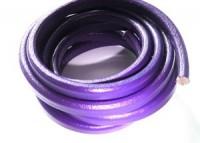 Lederband 10x7mm Purple 20cm lang