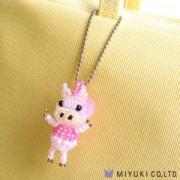 Miyuki Charm Kit Piggy das Schweinchen
