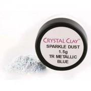 Mica Puder Transparent Metallic Blue ca 1,5gr
