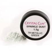 Mica Puder Transparent Metallic Green ca 1,5gr