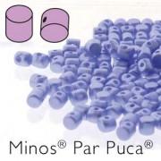 Minos par Puca ® 2,5x3mm 02010-25014 Pastel Light Sapphire ca 10 gr