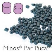 Minos par Puca ® 2,5x3mm 02010-25033 Pastel Petrol ca 10 gr