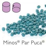 Minos par Puca ® 2,5x3mm 02010-25043 Pastel Emerald ca 10 gr