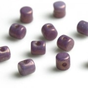 Minos par Puca ® 2,5x3mm 03000-15726 Opak Mix Amethyst Gold Ceramic Look ca 10 gr