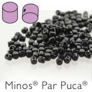 Minos par Puca ® 2,5x3mm 23980 Jet ca 10 gr