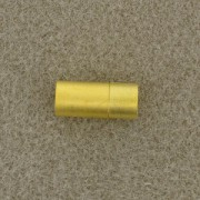Magnetverschluß Steckverschluß 6mm zum Einkleben goldfarben matt