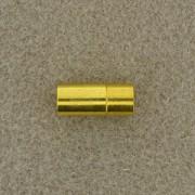 Magnetverschluß Steckverschluß 8mm zum Einkleben goldfarben