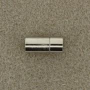 Magnetverschluß Steckverschluß 8mm zum Einkleben silberfarben