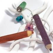 Anleitung Perlen fädeln - Matita