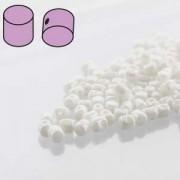 Minos par Puca ® 2,5x3mm 03000-14400 Opak White Ceramic Look ca 10 gr