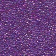 Miyuki Rocailles Beads 1,5mm 0352 Fuchsialined luster Aqua ca 11gr