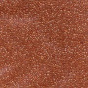 Miyuki Delica Beads 1,6mm DB1302 transsparent dyed light Peach ca 5gr