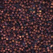 Miyuki Beads Sharp Triangle Beads 2,5mm 2005 metallic matt Dark Raspberry 13 Gr.
