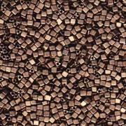 Miyuki Beads Sharp Triangle Beads 2,5mm 2006 metallic matt Dark Bronze 13 Gr.