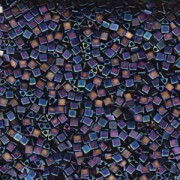 Miyuki Beads Sharp Triangle Beads 2,5mm 0401FR opaque matt rainbow Black 13 Gr.