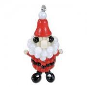 Miyuki Christmas Ornament Charm  Kit Santa