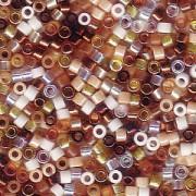 Miyuki Delica Beads 1,6mm Mix22 Honey Butter 7,2 Gr.