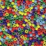 Miyuki Delica Beads 1,6mm Mix37 opaque Rainbow 7,2 Gr.