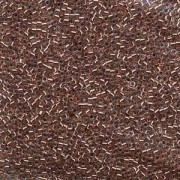 Miyuki Delica Beads  1,6mm DB0037 inside colorlined Crystal Copper 5gr