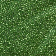 Miyuki Delica Beads  1,6mm DB0046 Silverlined Light Green 5gr