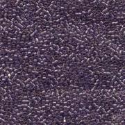 Miyuki Delica Beads 1,6mm DB0117 transparent luster Lavender Blue 5gr