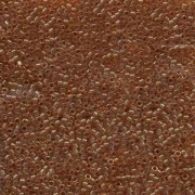 Miyuki Delica Beads 1,6mm DB0121 Gold luster dark Topas 5gr