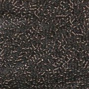 Miyuki Delica Beads 1,6mm DB0184 silverlined dark Bronze 5gr
