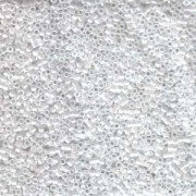 Miyuki Delica Beads 1,6mm DB0201 opaque luster White 5gr