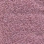 Miyuki Delica Beads 1,6mm DB0210 opaque luster Light Lilac 5gr