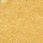 Miyuki Delica Beads 1,6mm DB0233 opaque luster Butterscotch Yellow 5gr