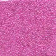 Miyuki Delica Beads 1,6mm DB0247 lined Crystal Fuchsia 5gr