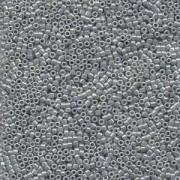 Miyuki Delica Beads 1,6mm DB0252 opaque luster Ash Grey 5gr
