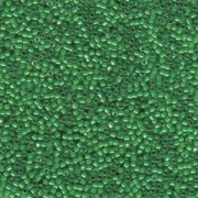 Miyuki Delica Beads 1,6mm DB0274 transparent luster Light Kelly Green 5gr