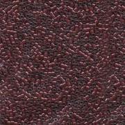 Miyuki Delica Beads 1,6mm DB0280 lined luster dark Plum 5gr
