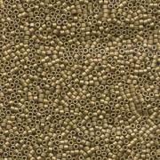 Miyuki Delica Beads 1,6mm DB0371 metallic matte Golden Olive 5gr