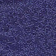 Miyuki Delica Beads 1,6mm DB0377 matt metallic dark Blue Grey 5gr