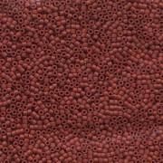 Miyuki Delica Beads 1,6mm DB0378 metallic matte Dark Red 5gr