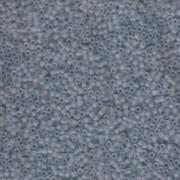 Miyuki Delica Beads 1,6mm DB0381 matt transparent shadow Grey 5gr
