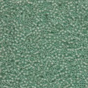 Miyuki Delica Beads 1,6mm DB0385 matt Sea Glass Green 5gr