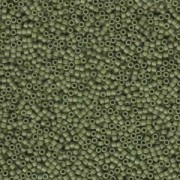 Miyuki Delica Beads 1,6mm DB0391 matt opaque Olive 5gr