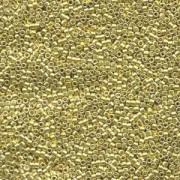 Miyuki Delica Beads 1,6mm DB0412 dyed galvanized Yellow 5gr