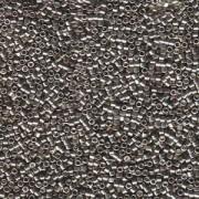 Miyuki Delica Beads 1,6mm DB0436 galvanized Pewter 5gr